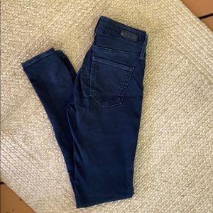 AG Jeans the Farrah Skinny High Rise Sz 25